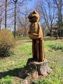 Don Becker Kermit sculpture
