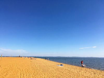 Beach at Sandy Point State Park, Maryland