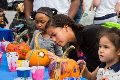 College Park Day Pumpkin Painting