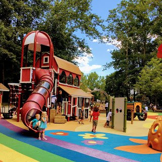 Wizard of Oz Playground at Watkins Regional Park
