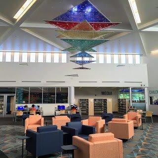 Alan Binstock Sculpture New Carrollton Library