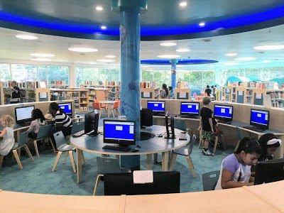 New Carrollton Library Computers