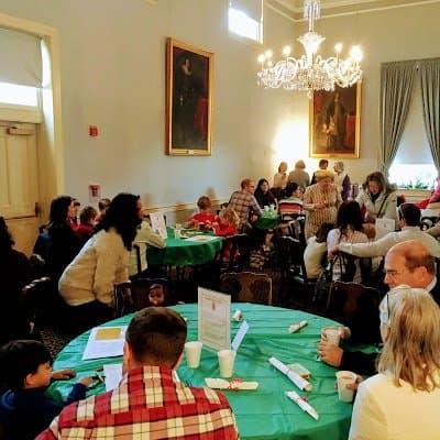 Breakfast with Sint Niklaas Riversdale House Museum